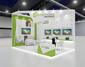 stall Exhibition Stall 3D