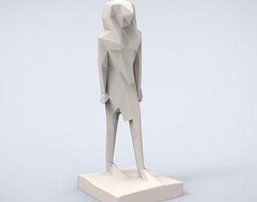 Printable Horus Lowpoly Style