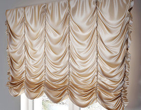 French curtain 2 3D model