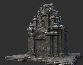 Ruin Ancient Temple - Khmer Architecture B 02 3D model