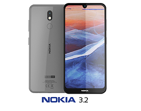 Nokia 3 2 Steel 3D