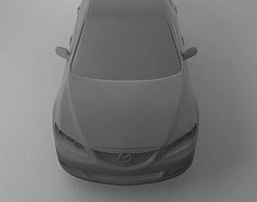 3D model of Mazda 6
