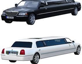 Lincoln Town Car 2011 limousine 3D model