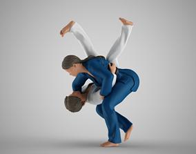 Judo Training 3D print model