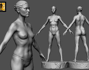 female anatomy study 3D print model