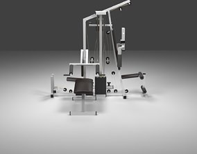 3D asset Big Gym
