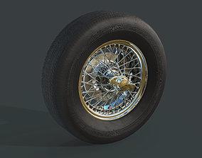 3D model Austin Healey 300 MK3 Wheels