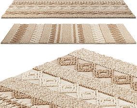 Safavieh Handmade Natura Annedorte Wool Rug 3D