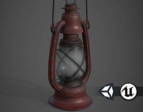 Old Lamp - PBR and Game Ready 3D model