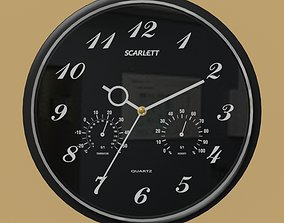 3D scarlett Wall clock