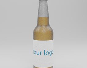 Bottle of beer 3D