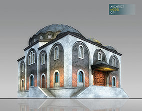 realtime Mosque Architectural 3d Model with Render Scene