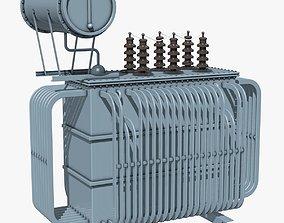 Electrical Distribution Transformer 3D model