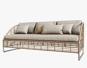 Season Sun Lounge Sofa 3D model