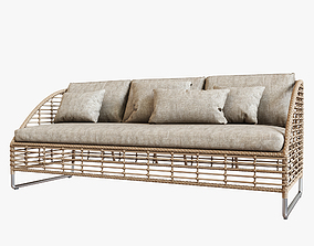 Season Sun Lounge Sofa 3D model