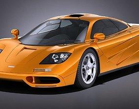 LowPoly Mclaren F1 1994 3D model