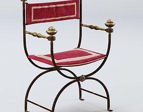 3D 19 century chair