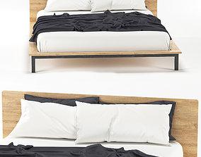 Bed HOFT home of loft Cr 2 3D model