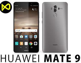 3D model Huawei Mate 9 Space Gray