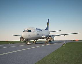 boeing 737 500 lufthansa 3D