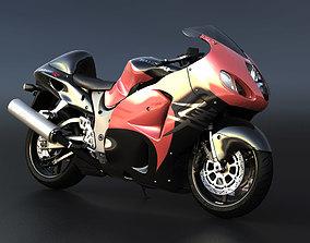 3D Suzuki Hayabusa 01