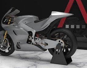 Motorcycle Racing 3D asset