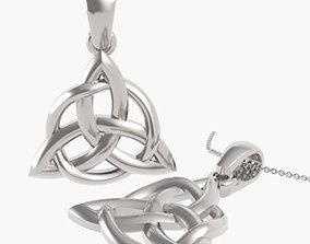 Trinity Design Pendant 3D printable model