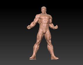 Super man 3D print model