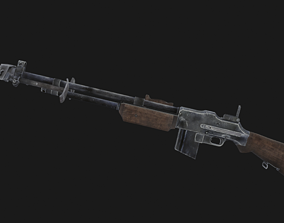 3D model Browning M1918