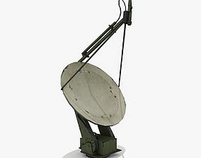 3D model Military Radar Dish