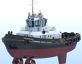 fbx 3D model ATD Tug PB DARLING