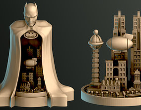 Batman City 3D printable model