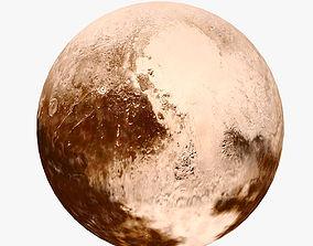 3D model Lowpoly Pluto