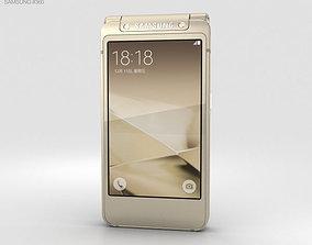 3D model Samsung W2016 Gold