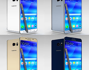 Samsung Galaxy Note 5 All Color Pack 3D