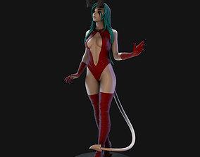 figurines Demon Lady 3D Print Model 25cm