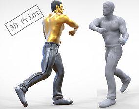 3D printable model N1 Human Fighting 1 64 miniature