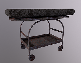 Stretcher Game Ready Low Poly 3D realtime 1