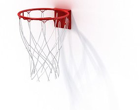 Basketball Hoop Net 3D model