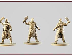 Butcher 3D printable model