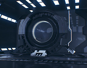 Sci Fi 3D Interior - Maya - 3Ds Max - Cinema 4D - FBX -