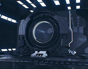 Sci Fi 3D Interior - Maya - 3Ds Max - Cinema 4D - FBX - 1