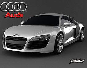 Audi R8 Lemans 3D model
