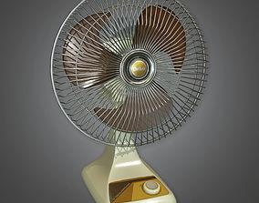 Electric Fan TLS - PBR Game Ready 3D asset