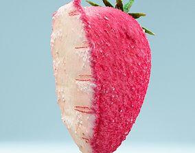 3D model Sugar Strawberry