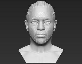 Kendrick Lamar 3D printing ready stl obj formats