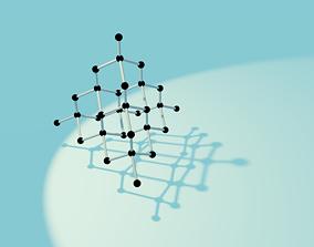 Organic Chemistry Molecule - Diamond 3D printable model