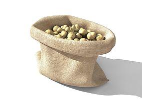 3D Potato Sack