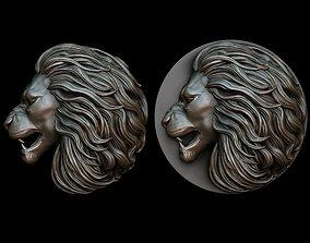 Lion pendant 2 - three versions 3D printable model