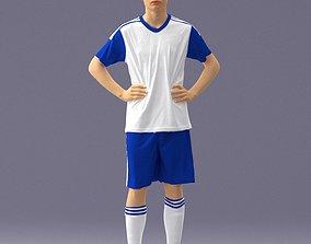 3D model Soccer player 1114-9
